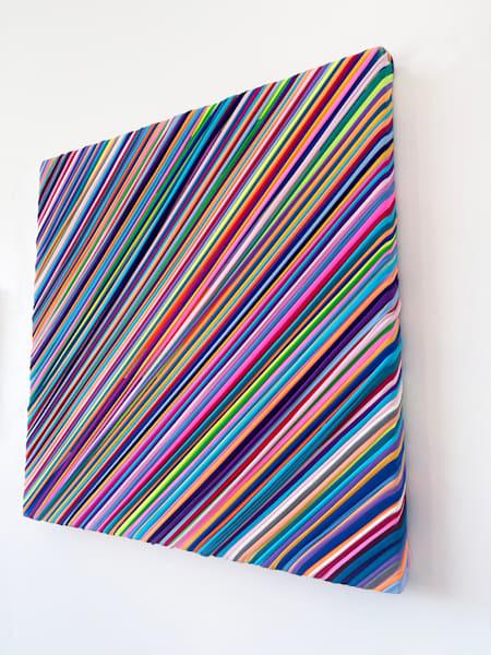 spectrum, fabric, textile, art, wall art