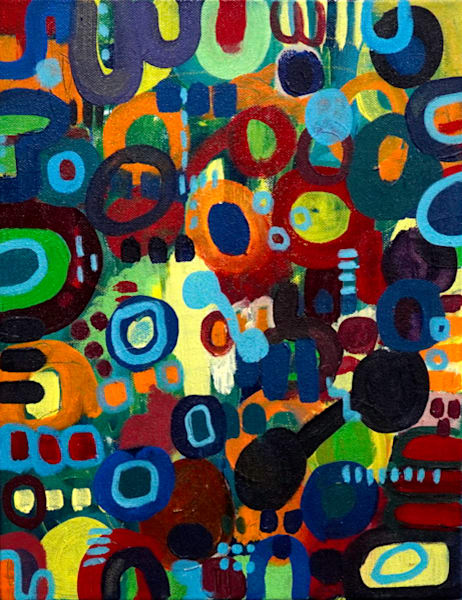 Out Of My Mind Art | Abstraction Gallery by Brenden