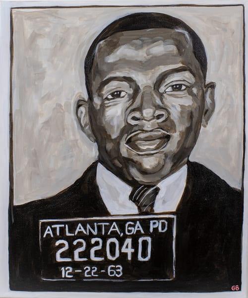 Arrested Senator John Lewis, Atlanta Ga 1963 Art | RPAC Gallery