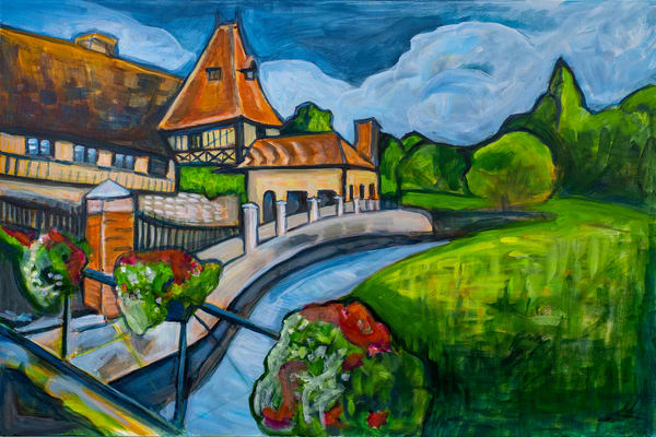 Canal Yvoire, France Art | RPAC Gallery
