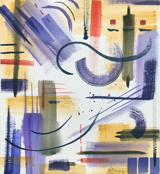 "Original Watercolor ""Abstract Symphony"" Art | Color Splash Ranch"