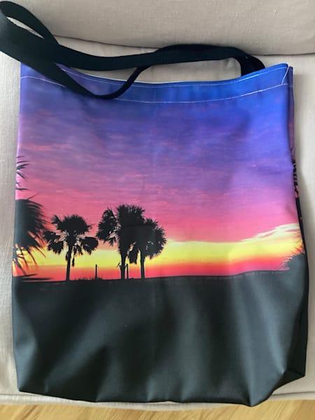Emerald Coast Sunrise Beach Bag Photography Art   Silver Sun Photography