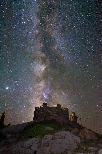Milky Way Lookout Photography Art | Nicholas Jensen Photography