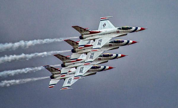 Step Four the Thunderbirds