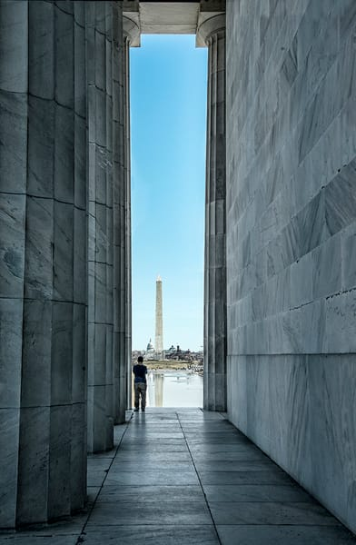 The Mall from Lincoln Memorial