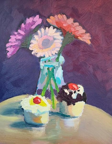 Cupcake Still Life 2 Art | Kelsey Showalter Studios