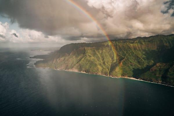 Na Pali Rainbow | Mk055 Art | Pictures Plus