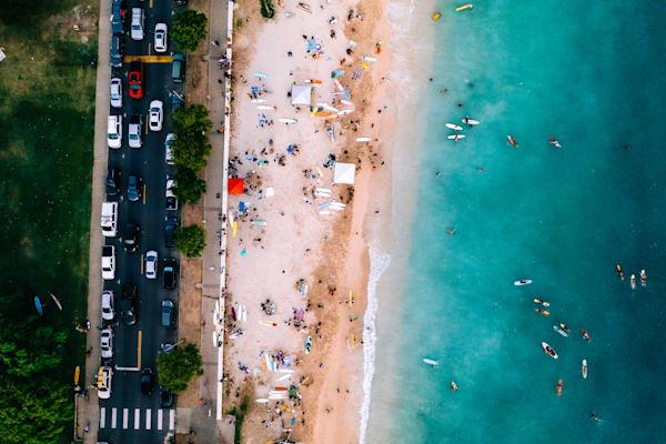 Surf Town | Mk062 Art | Pictures Plus