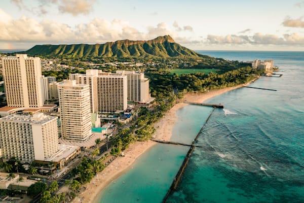 Waikiki Gold | Mk063 Art | Pictures Plus