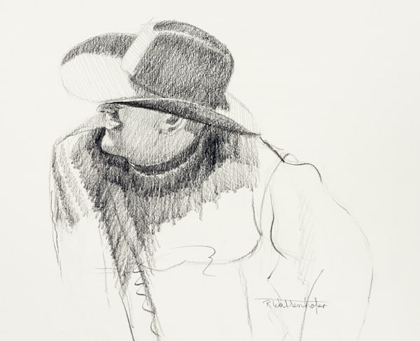 The Deliberation Ii   Drawing Art | Raymond Wattenhofer