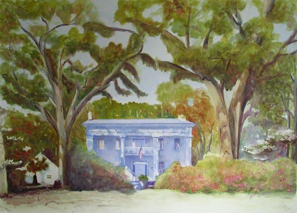 Ely Criglar Mansion Marianna Fl Art | Michele Tabor Kimbrough