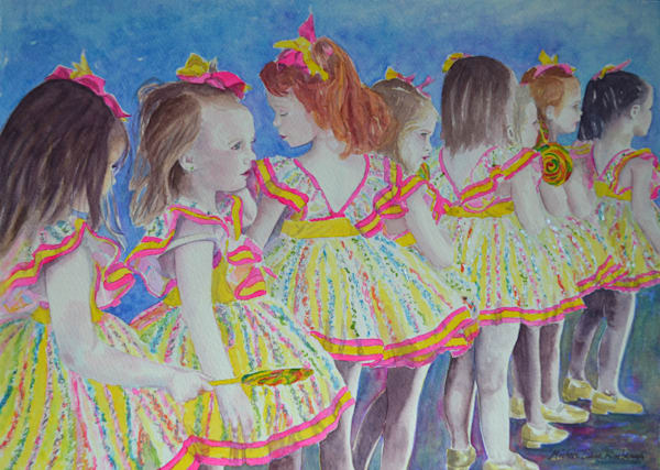 Lollipop Dancers Art | Michele Tabor Kimbrough