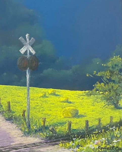 Railroad Crossing Art | Kurt A. Weiser Fine Art