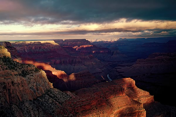 Sunrise From Hopi Point In The Grand Canyon Photography Art | RAndrews Photos