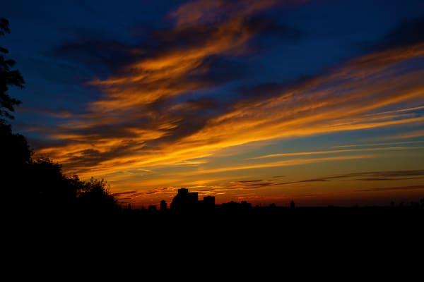 Sunset From Rochester's Cobb's Hill Photography Art | RAndrews Photos