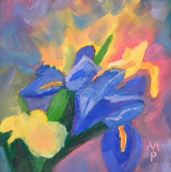 Iris Glow (print)   Mary Planding
