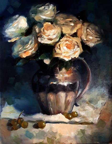 Candifloss Roses Art   CastroLux Art Sales