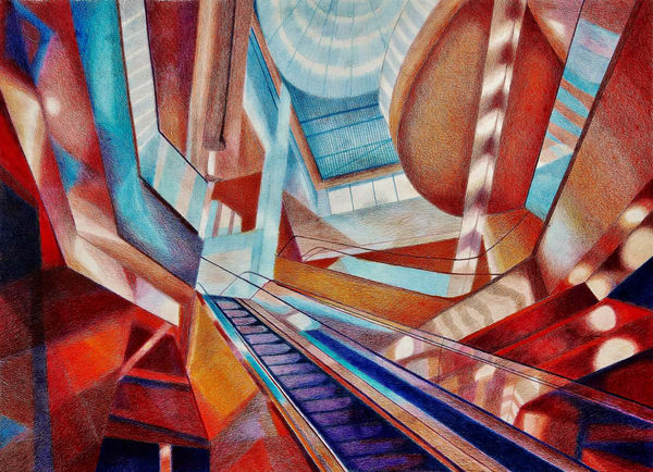 ARCHITECTURE Art Prints and Paintings by Len Cicio