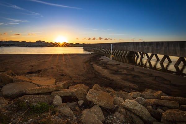 Wannabe Naturalist Lake Pontchartrain Bicycle Path Sunset   Eugene L Brill