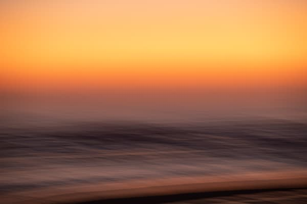 Ocean Sunrise Glow Photography Art   Willard R Smith Photography