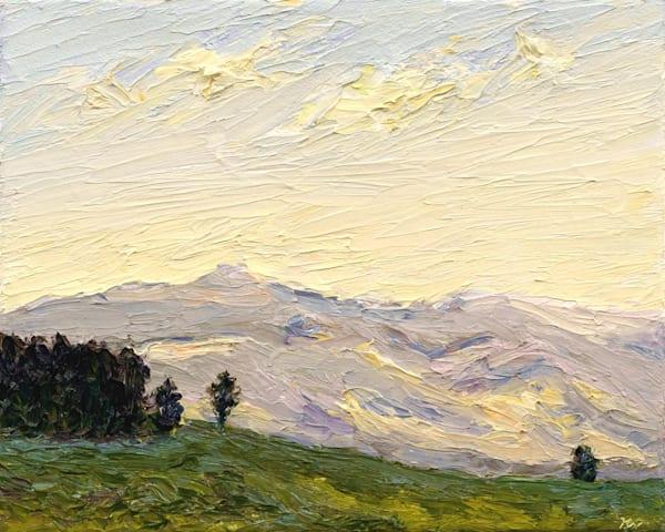 Michaela's Mountain • Original Art | Kate Wilson Fine Art