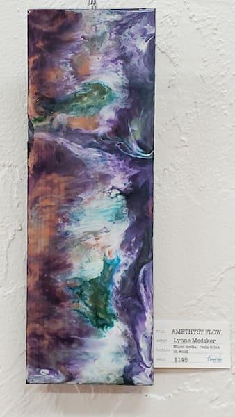 Amethyst Flow Art | Lynne Medsker Art & Photography, LLC