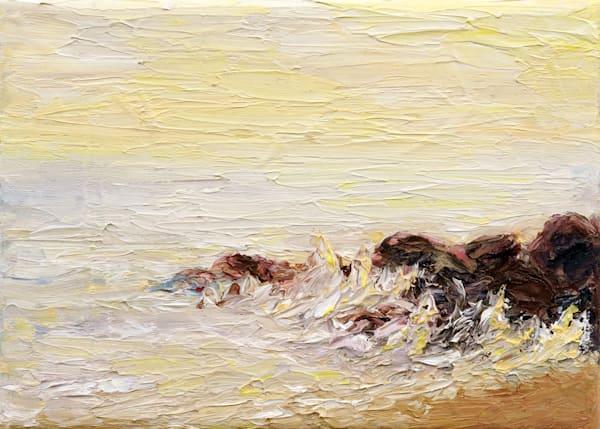 Sunlit Surfside  • Original Art | Kate Wilson Fine Art