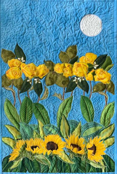 Sun In The Garden Art | Suzanne Aulds Studio