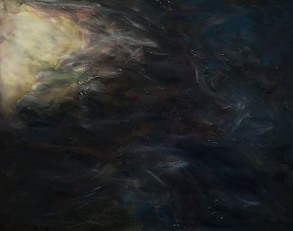 Oil Painting of Faith, the First Theological Virtue.