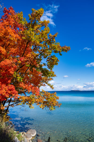 Clear Lake Michigan Waters-0866