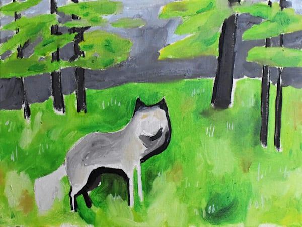 Minnesota Wolf Art | eddie hamilton art