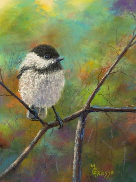 Chickadee Art | Mark Grasso Fine Art