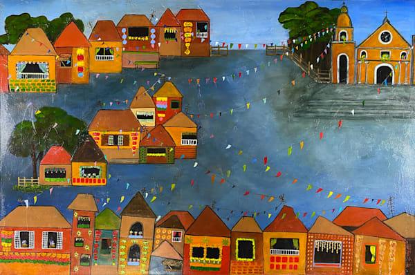 Fiesta (Pahiyas) Art   Marissa Sweet