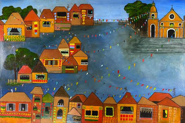 Fiesta (Pahiyas) (Print) Art | Marissa Sweet