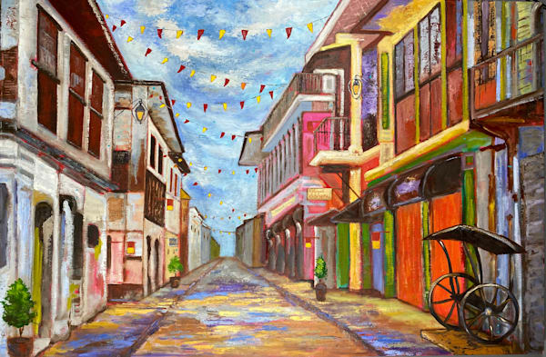 Fiesta Sa Barrio Art   Marissa Sweet