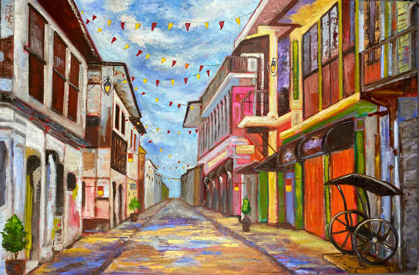Fiesta Sa Barrio (Print) Art | Marissa Sweet