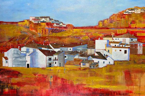 El Pueblo De Guadix Art   Marissa Sweet