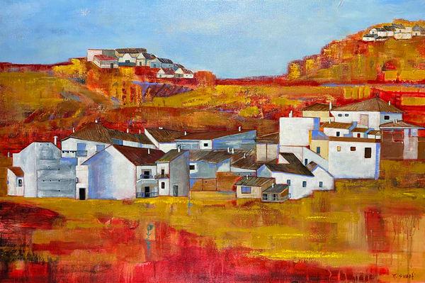 El Pueblo De Guadix (Print) Art | Marissa Sweet