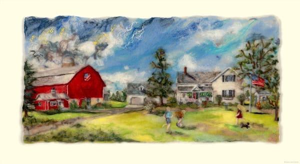 """Mum's Place"" fine art print by Paula Jean Roberts."