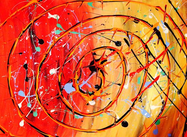 Bulls Eye Art | Courtney Einhorn