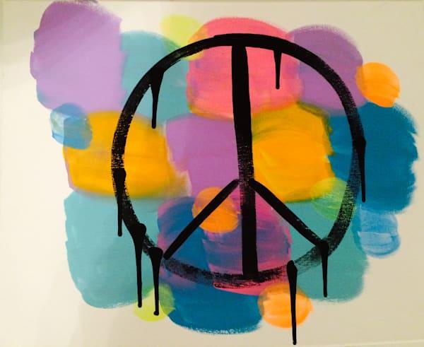 A Hippie Peace Art   Courtney Einhorn