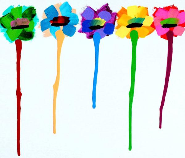 Flower Drip Art | Courtney Einhorn