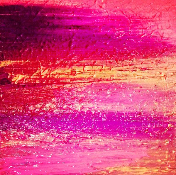 Purple Sunset Art | Courtney Einhorn