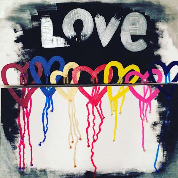Dripping Love Art | Courtney Einhorn