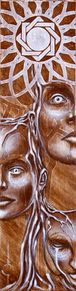 Head Flower Art | John Stream Design, LLC