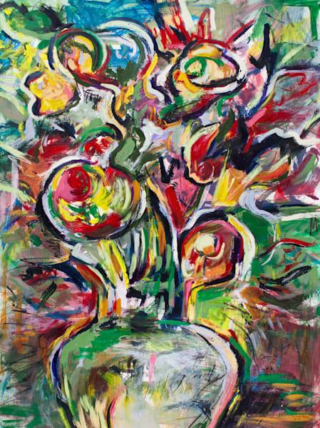 """Vase Of Light"" Original Art | Daniel Kanow Fine Art"