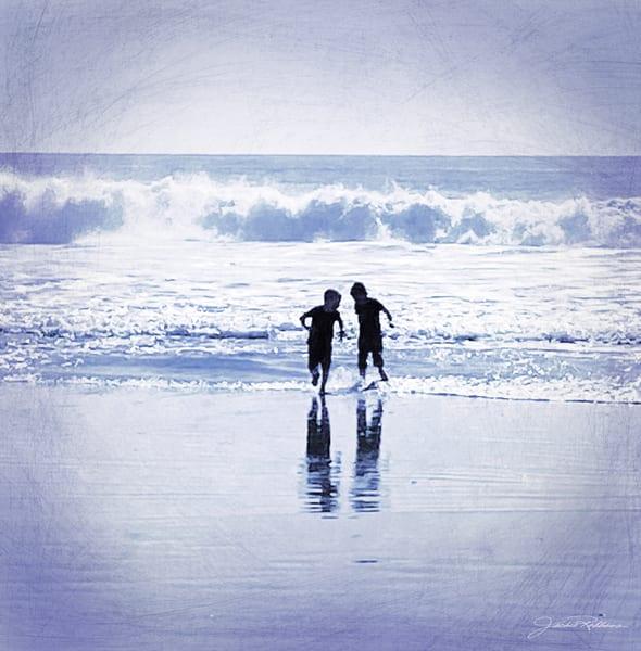 boys beaches playing photography lavendar jackierobbinsstudio photographicprints decor buyartonline
