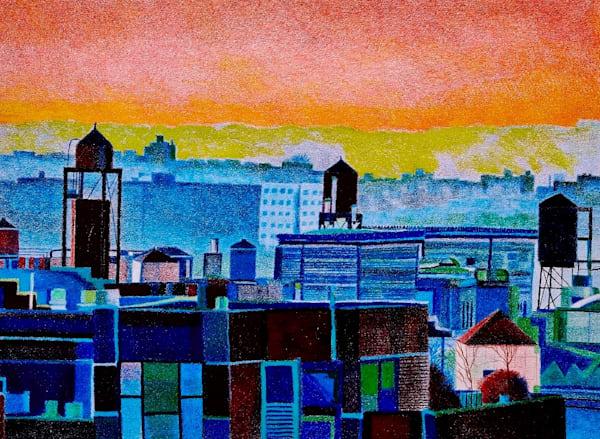 Manhattan Westside Water Towers | lencicio