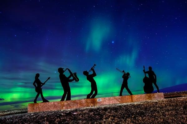 Jazzman, Play Me A Song   Estevan, Saskatchewan Photography Art | Byron Fichter Fotography