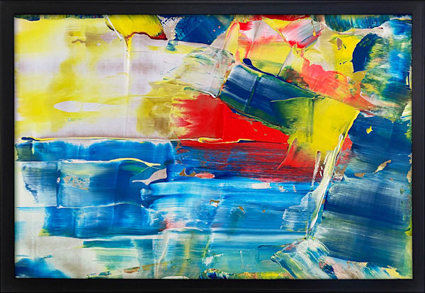 Crystal Blue Persuasion acrylic painting
